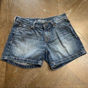 Old Navy Ultra Blue faded denim shorts